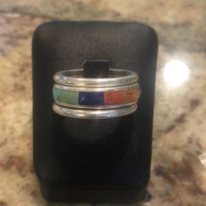 Stunning Vintage size 9 Silpada Ring
